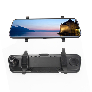 "10"" HD Touch Screen Rearview Mirror with DVR"
