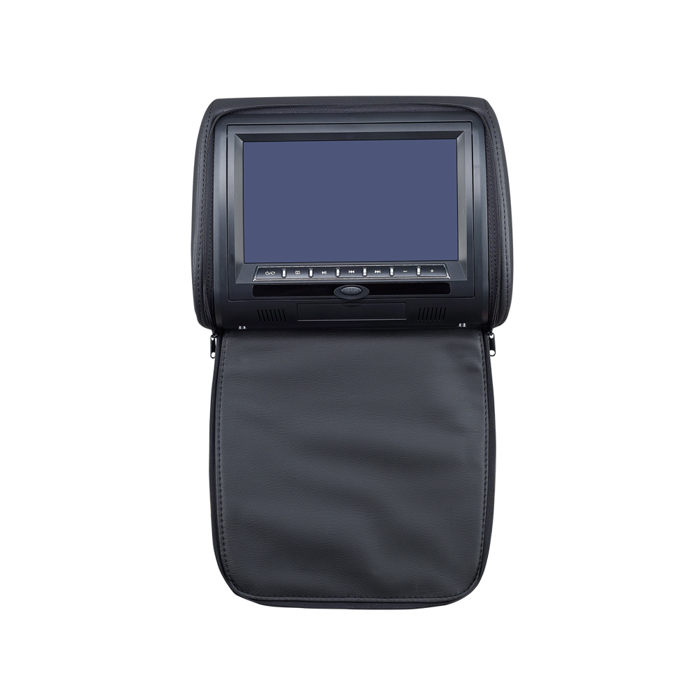 "9"" HD LED Headrest DVD Player with Pillow"