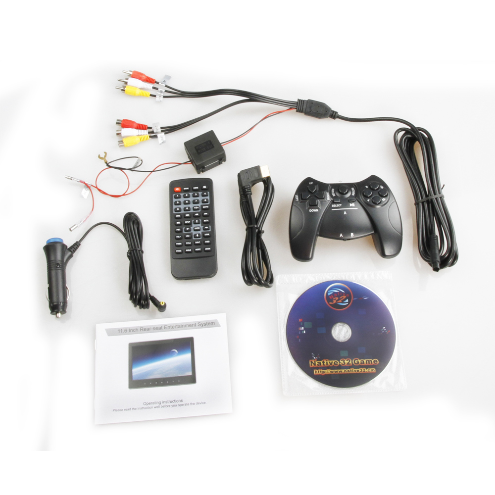 11.6'' Ultra-thin HD Headrest DVD with HDMI Touch Button